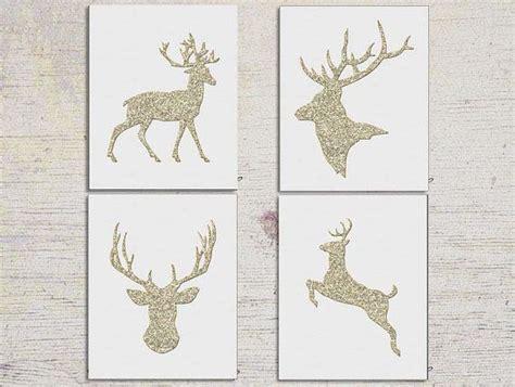 reindeer wall decoration deer printable printable reindeer