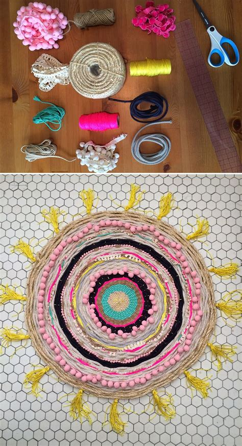 Diy Woven Rug by Best 25 Woven Rug Ideas On