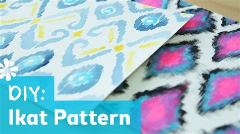 diy cover pattern diy ikat print pattern sea lemon