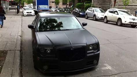 Flat Black Chrysler 300 by Matte Black Chrysler 300 In Montreal