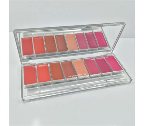 Palet Eyeshadow Wardah halal cosmetics singapore wardah lip palette more brands available wardah