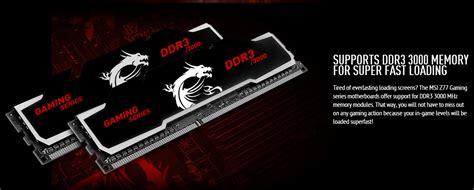 Ram Msi msi gaming series memory ddr3 3000 mhz revealed