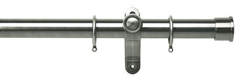 curtain pole ends galleria metals 35mm curtain pole end cap the home of