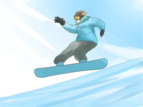 how to a from jumping on how to hit a jump on a snowboard with pictures wikihow
