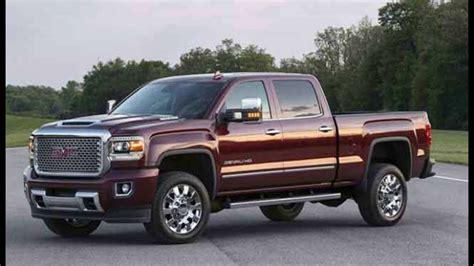 2018 gmc denali truck new review