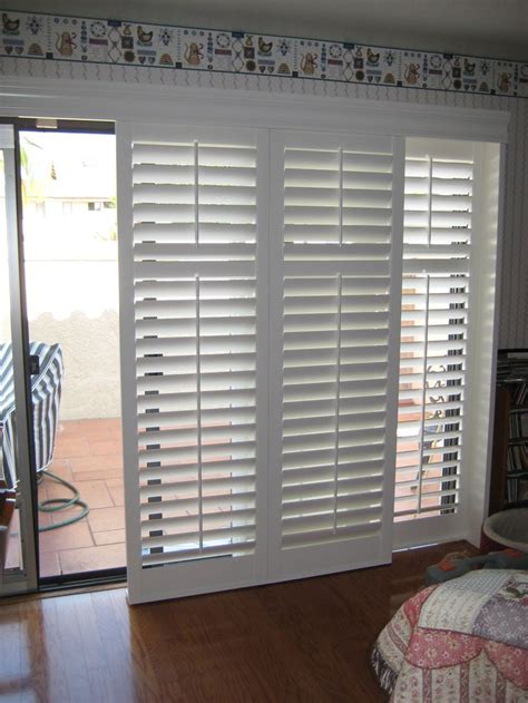 shutters for sliding glass doors shutters for sliding glass doors in for the home plantation shutter