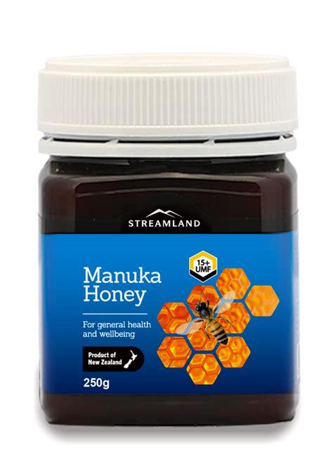 Madu Manuka Streamland Umf 20 250g madu manuka umf 15 madu manuka new zealand