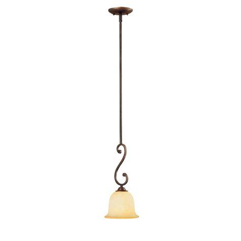 millennium lighting 1 light rubbed bronze mini pendant