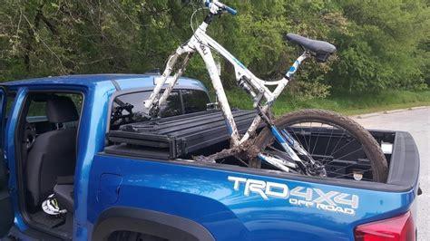 Tacoma Bike Rack by Bike Rack With Tonneau Cover Tacoma World