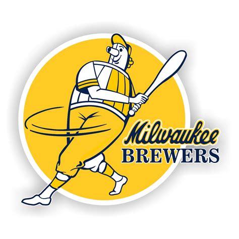 milwaukee brewers die cut decal