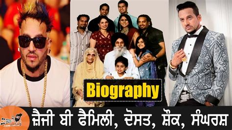 jazzy b biography in hindi jazzy b with family biography wife mother father