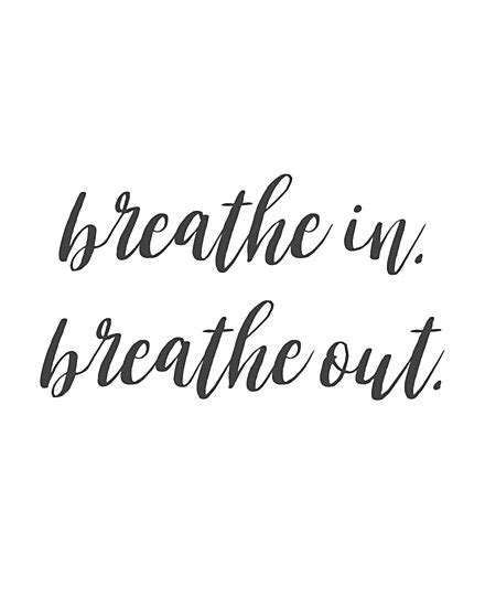 """Breathe in. Breathe out. "" Photographic Print by"