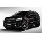 2014 Larte Design Mercedes Benz GL Black Crystal Wallpaper  HD Car