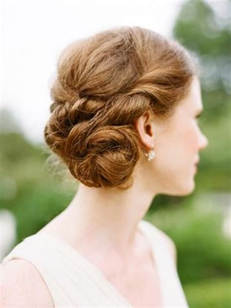 20 strikingly gorgeous side updo wedding hairstyles weddingomania