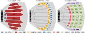 Chicago Theater Seat Map by The Chicago Theatre Seating Chart