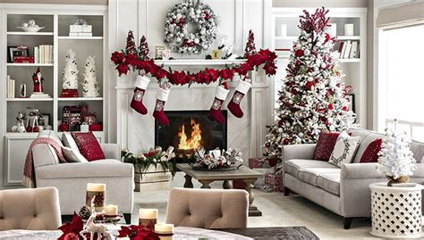 how to decorate a living room for christmas open plan living space holiday decor ideas