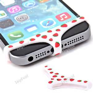 iphone home button sticker strawberry print smartpants home button sticker for iphone