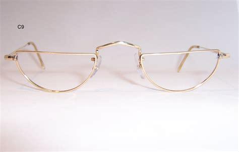 rimless half eye reading glasses louisiana brigade