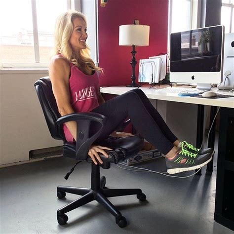 exercise equipment for sitting at your desk 11 best office desk exercises images on pinterest