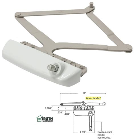 awning window hardware truth hardware maxim narrow awning window operator