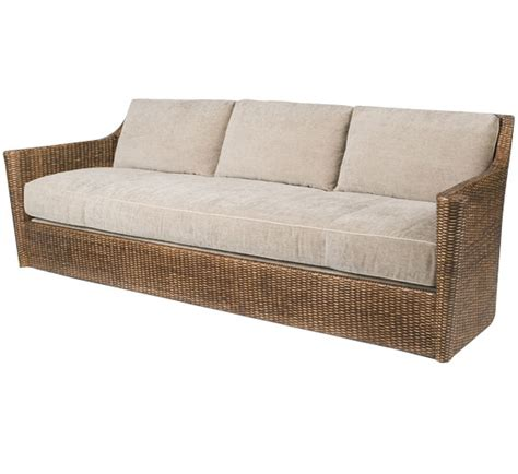 Palisades Sofa Wicker Material Indoor Furniture