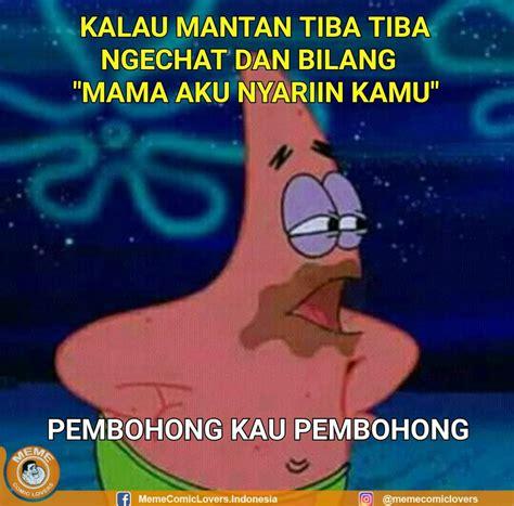 Meme Spongebob Lucu - meme lucu spongebob bahasa indonesia dp bbm lucu kocak