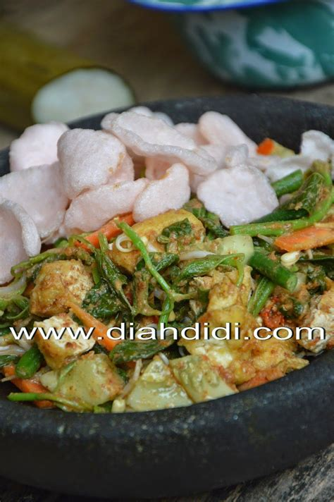 diah didis kitchen lotek yogya resep masakan makan