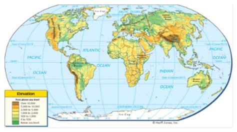 elevation map of the world elevation map world factsofbelgium
