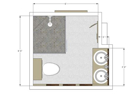 bathroom floor design basic bathroom layouts