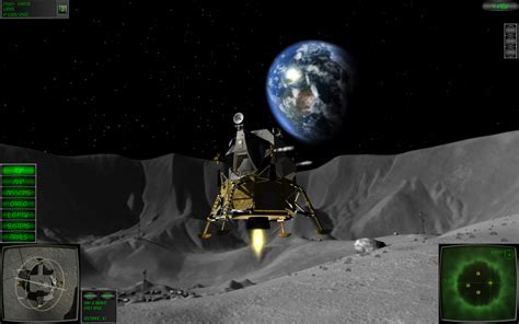 exploration full version 9game gaming lunar flight a fictional lunar module simulation