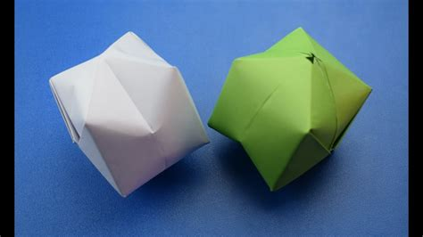origami craft projects origami how to make a paper balloon water bomb diy
