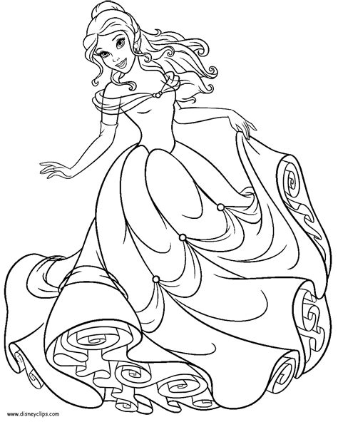 printable coloring pages belle best belle coloring pages 0 for kids coloring books