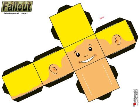 Fallout Papercraft - fallout papercraft page 2 by randyfivesix on deviantart