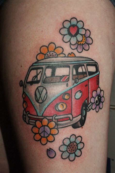 volkswagen bus tattoo 1000 images about my next tattoo can t come fast enough
