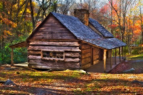 In Cabin by Picturesque Barn Wooden Wall Exposed Exterior Cabin