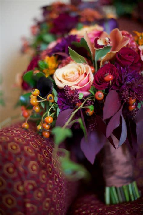 Plum Purple Wedding Decorations Wedding Wednesday Autumn Elegance Beautiful Blooms
