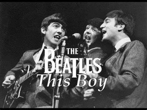beatles this boy the beatles this boy live