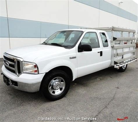 Used Glass Racks Sale by Find Used 2006 Ford F250 Xlt Truck 100 Quot X 60 Quot Glass