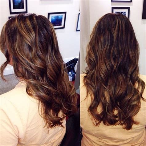 black hair with redish highlights 2014 60 chocolate brown hair color ideas for brunettes