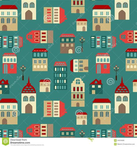 city pattern photography vector seamless city pattern stock photo image 34034668