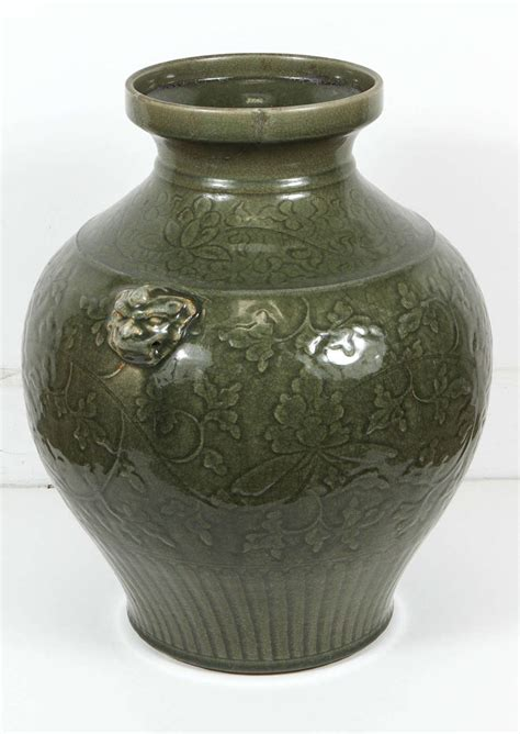 Celadon Vase by Celadon Green Vase For Sale At 1stdibs