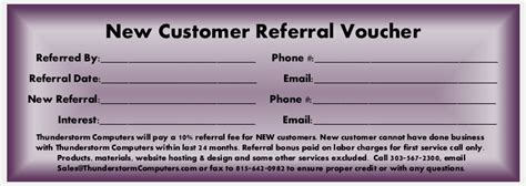 customer referral card templates customer referral card sle pictures to pin on