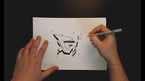 How To Draw A Graffiti G