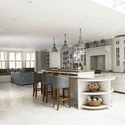 open plan kitchen design ideas raise the bar in an open plan kitchen open plan kitchen