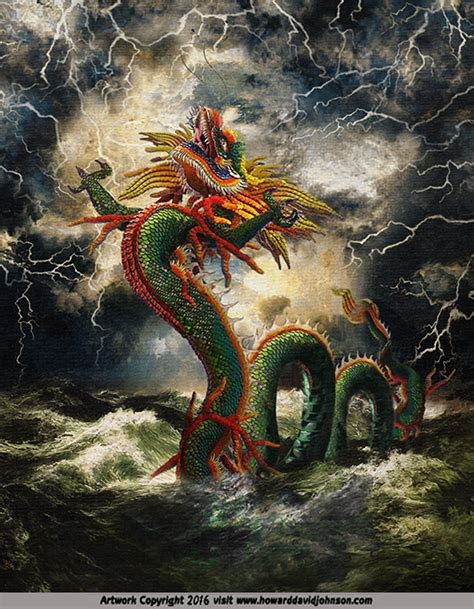 Mythical Creatures Of Asia asian myths and legends illustrations of asian mythology