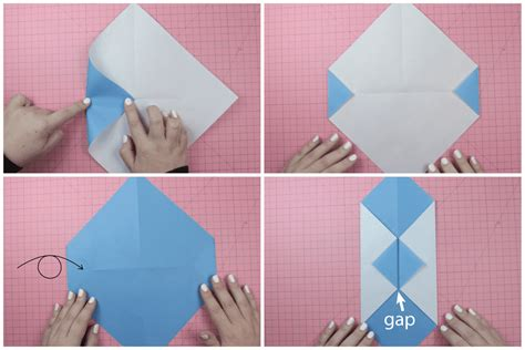 How To Fold A Paper Wallet - diy origami wallet