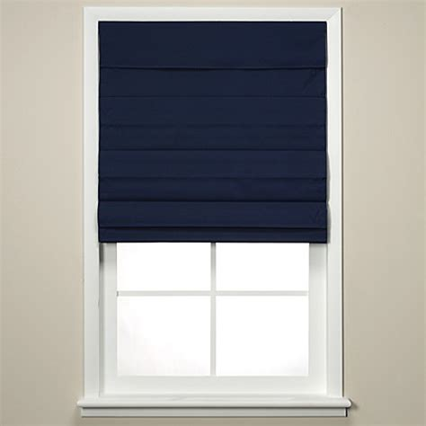 cordless curtains insola 174 chatham cordless roman cellular shade in navy