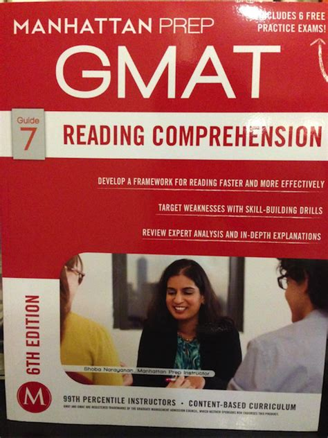 Manhattan Mba Guide by Review Manhattan Gmat S 6th Edition Reading Comprehension