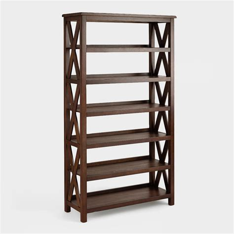 verona six shelf bookshelf world market