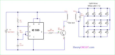 wireless power circuit diagram wireless power transfer mini project circuit diagram